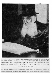 Margolis Gavriel Zev Pic Forward