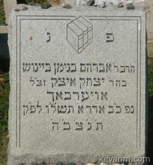 Rebbe Avroham Binyomin Beinush Auerbach