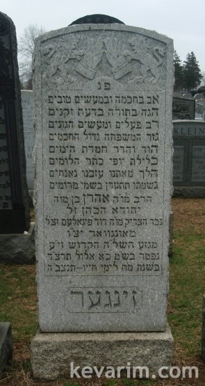 aaron-singer-mount-hebron-rabbi