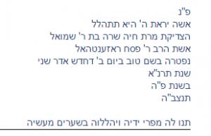 Rosenthal Pesach 3