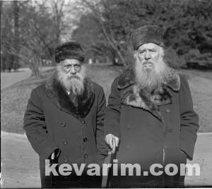 Rabv Yudelevitch and Rav Margolius