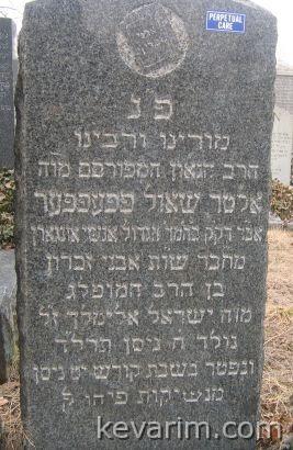 Rabbi Alter Shaul Pfeffer