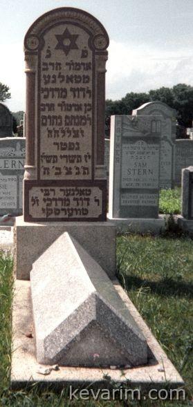 Rebbe Dovid Mordechai Twersky