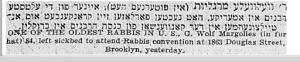 Margolis Gavriel Zev Forward Feb 1930 Part 2