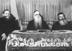 Chodorov and Vishiva Seated