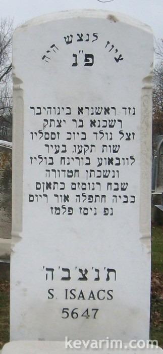 Rabbi Schachne Isaacs