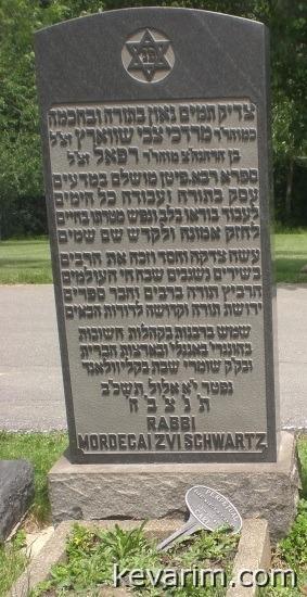 Rabbi Mordechai Tzvi Schwartz