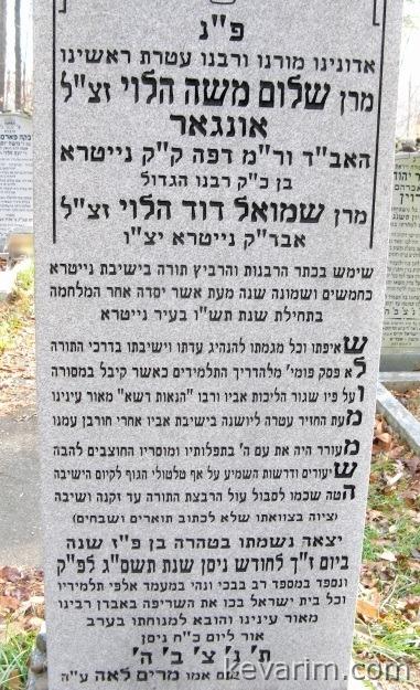 Rabbi Shalom Moshe Unger