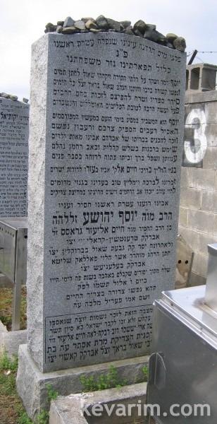 Rebbe Yosef Yehoshua Gross