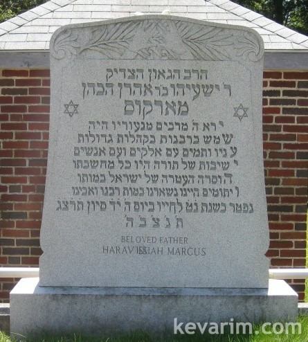 Rabbi Yeshaya Marcus