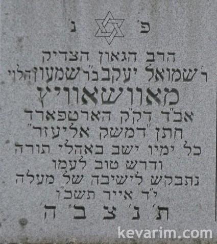 shmuel-yaakov-mowshowitz