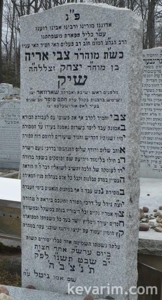 Rabbi Tzvi Aryeh Schick