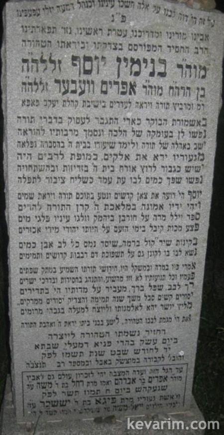 Rabbi Binyamin Yosef Weber