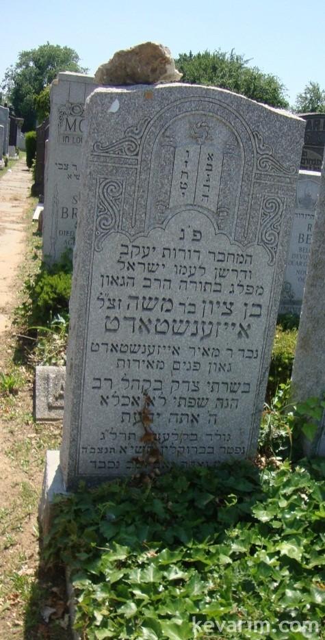 Rabbi Ben Tzion Eisenstadt