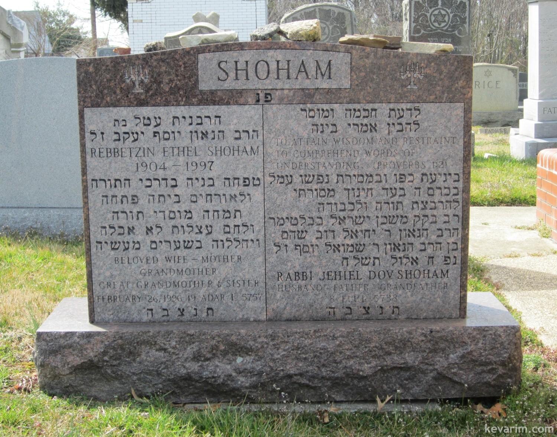 Rabbi Yechiel Dov Shoham
