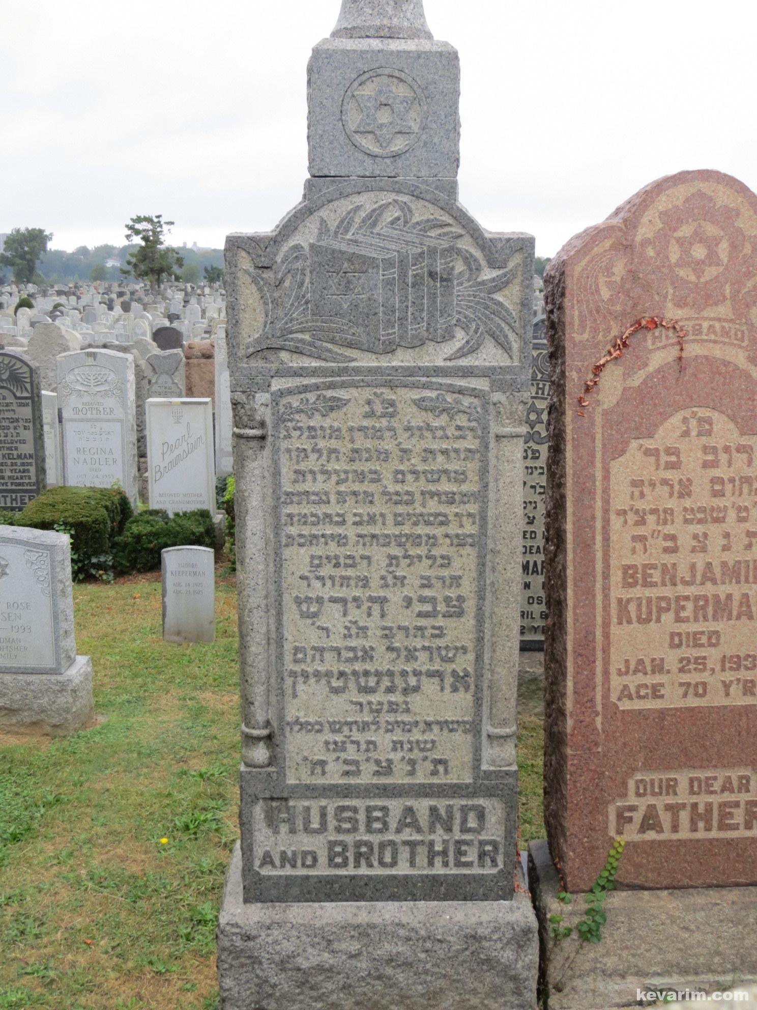 Rabbi Tzvi Hirsch Orenstein